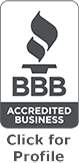 Better Business Bureau Accredited Business Seal - click for profile